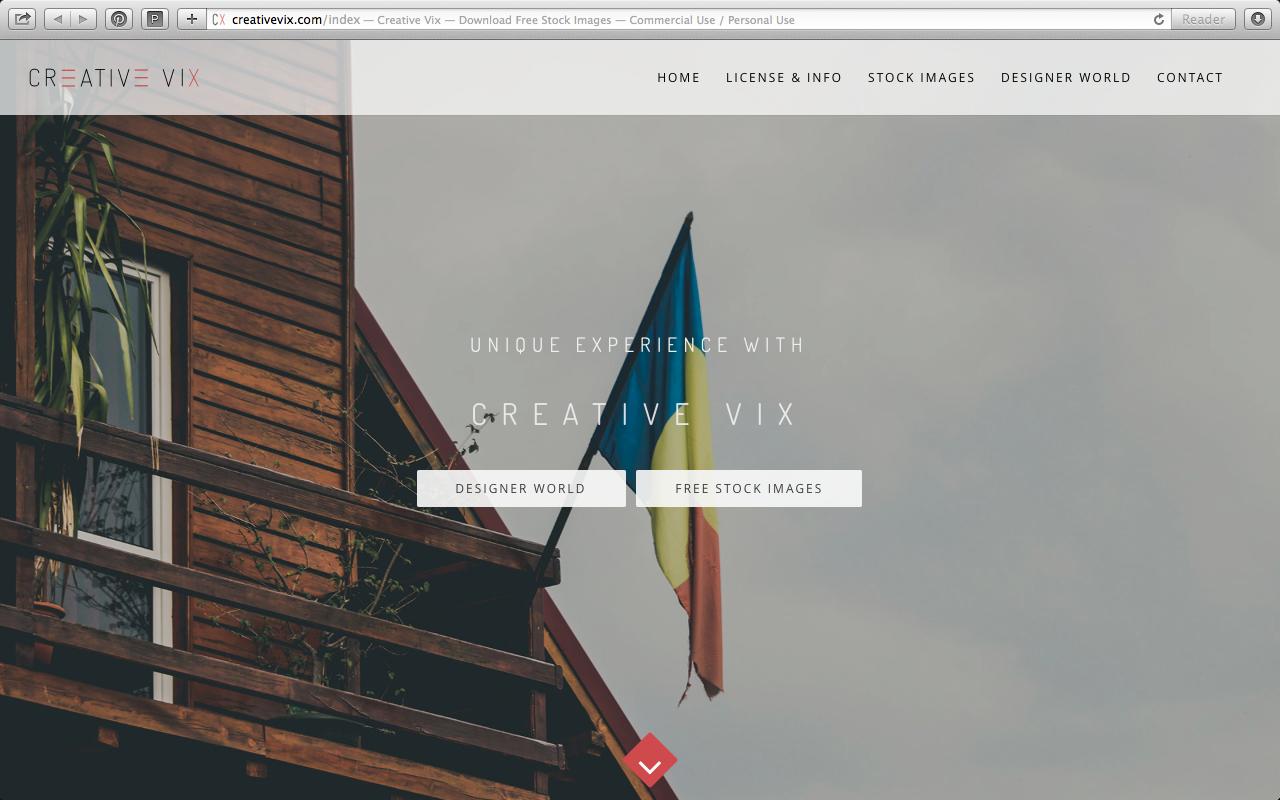 Great free public domain pictures resource: Creative Vix