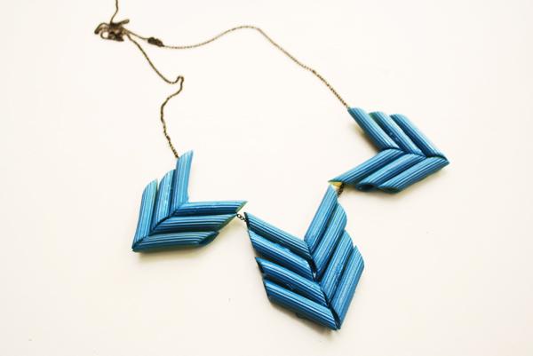 diy - penne necklace