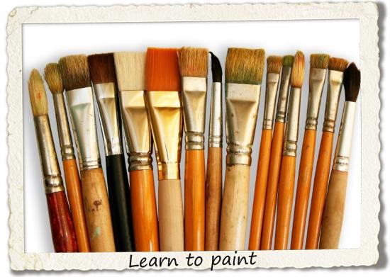bucket list: learn to paint