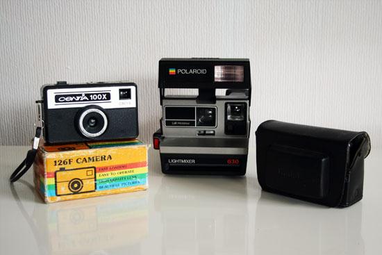 vintage cameras thrift store finds
