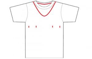 diy easy t-shirt reconstruction