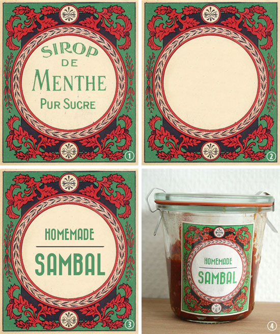 how to create a custom vintage style label 2