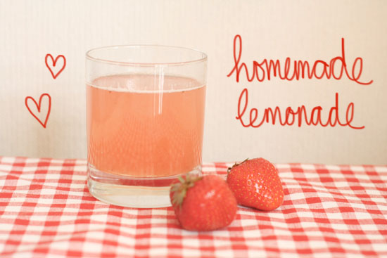 recipe - strawberry lemonade