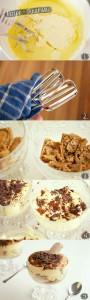 Recipe - Tiramisu with chocolate and amaretto
