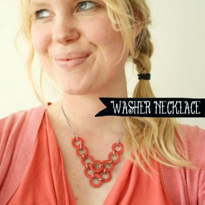 DIY - Washer necklace