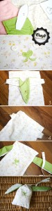 DIY - Easter bunny pouch / gift bag tutorial