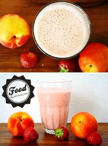 banana, nectarine and strawberry smoothie recipe