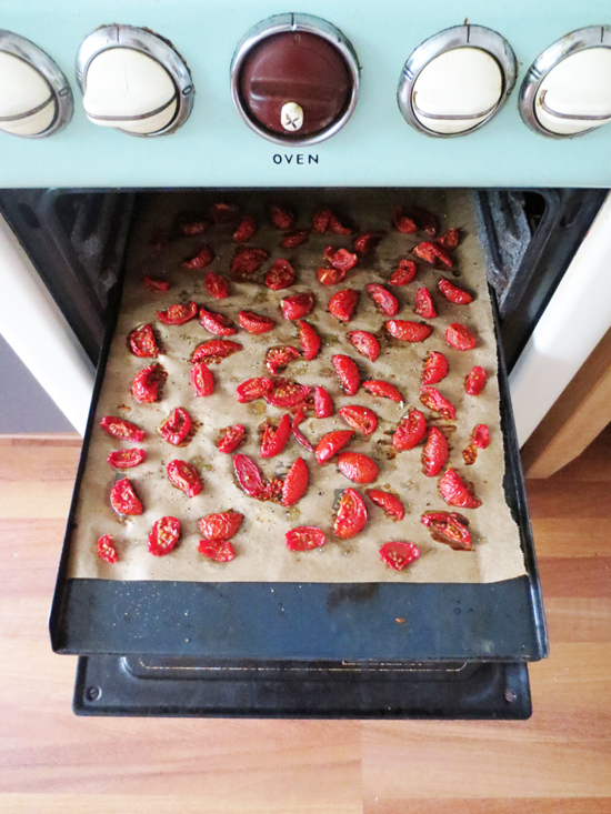 sun-dried tomatoes recipe