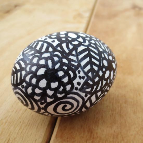Doodle Easter egg DIY Project