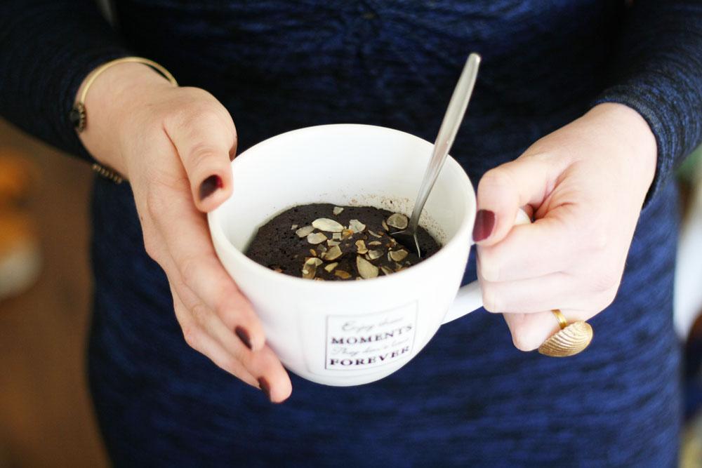 Recipe - Paleo chocolate mug cake