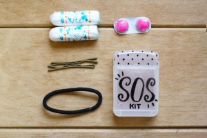 DIY - Mini SOS kit (for in your handbag)