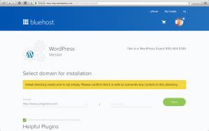 How to set up a WordPress blog with Bluehost